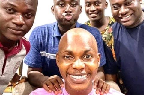 Leke Adeboye, RCCG Youths Go Bald In Honour Of Late Dare